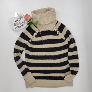 Hollister Striped Sweater Size L